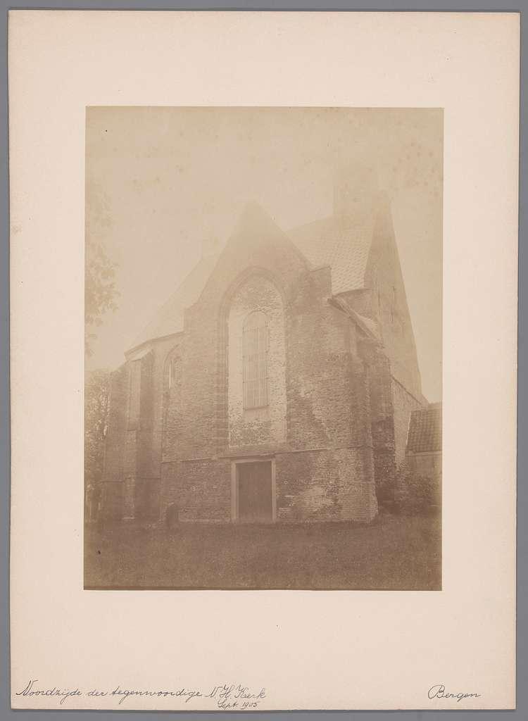 Ruïnekerk te Bergen