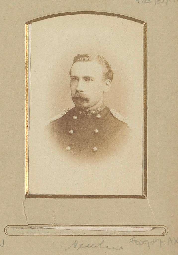 Portret van een (vermoedelijk) Nederlandse militair
